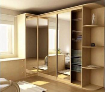 Шкафы купе угловые в спальню