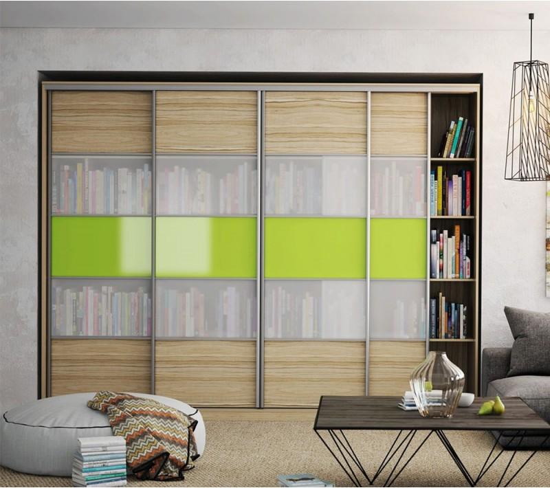 Стеклянные двери для книжного шкафа