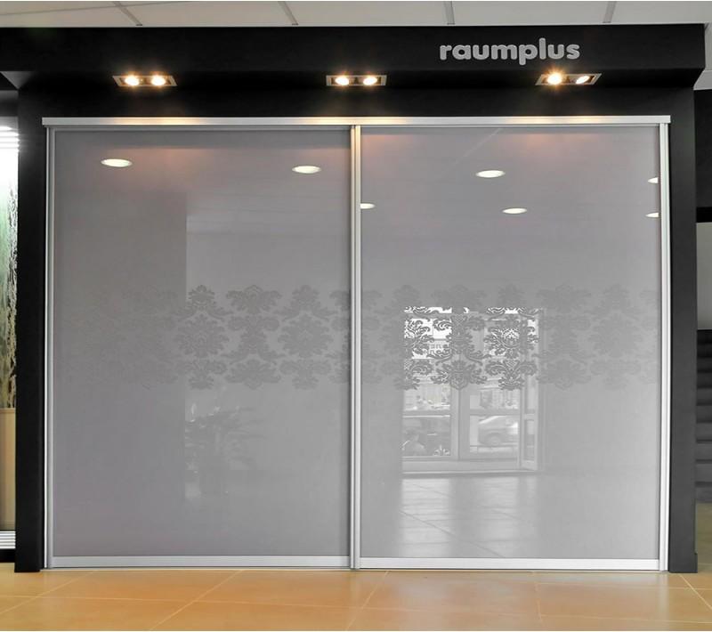 Стеклянные двери для шкафа купе с рисунком