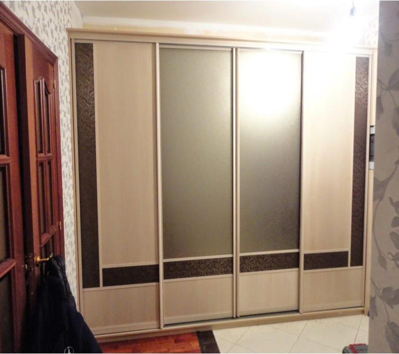 Двери купе матовое стекло