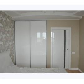 Шкаф купе белый глянец мдф