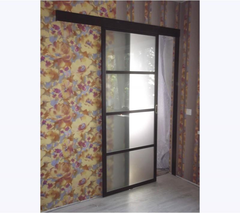 Двери одностворчатые раздвижные