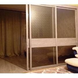 Раздвижные стены перегородки в квартире