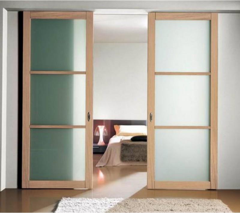 Раздвижные двери купе в комнату