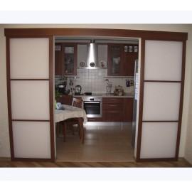 Купить недорого раздвижные двустворчатые двери