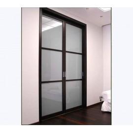 Раздвижная дверь межкомнатная двухстворчатая