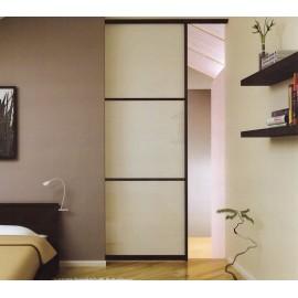 Раздвижная дверь межкомнатная одностворчатая в стену