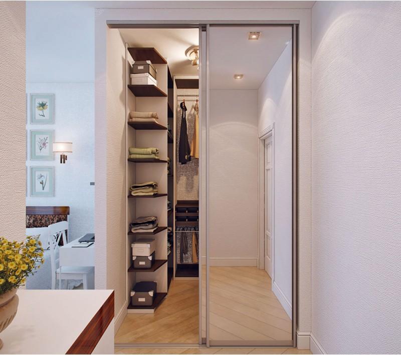 Двери двухстворчатые в гардеробную