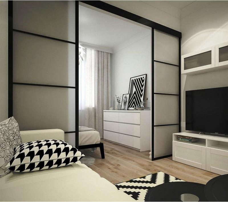 Разделительные перегородки для комнаты