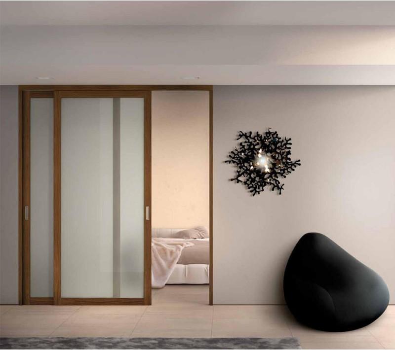 Раздвижные межкомнатные двери матовое стекло