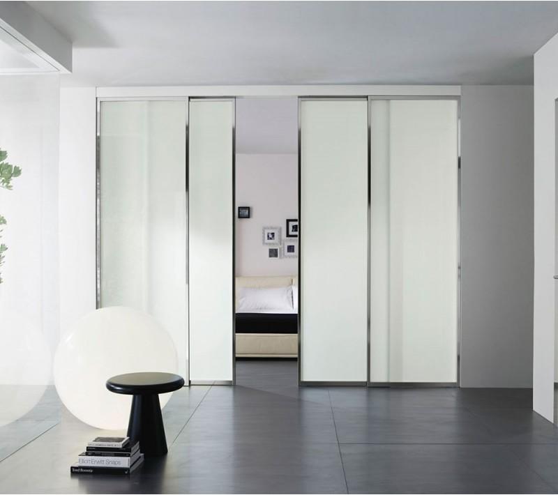 Раздвижные комнатные перегородки в квартире
