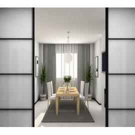 Раздвижные стеклянные двери для квартиры