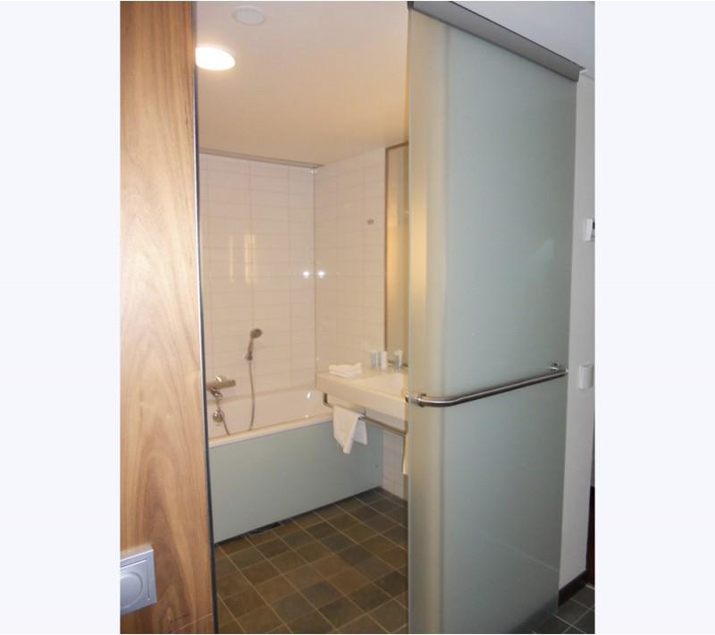 Раздвижная дверь в туалет - заказать в Москве по низкой цене