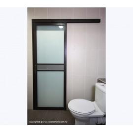 Ванна туалет раздвижные двери