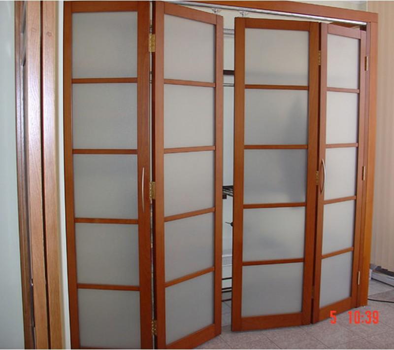 Раздвижные складные двери гармошка