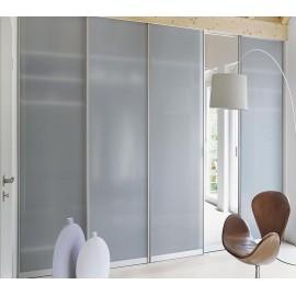 Встроенный шкаф купе стеклянные двери