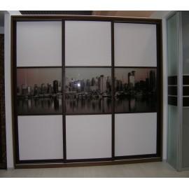 Встроенные шкафы купе цена за метр