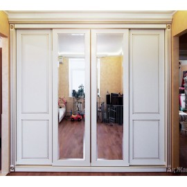 Фрезерованные двери купе