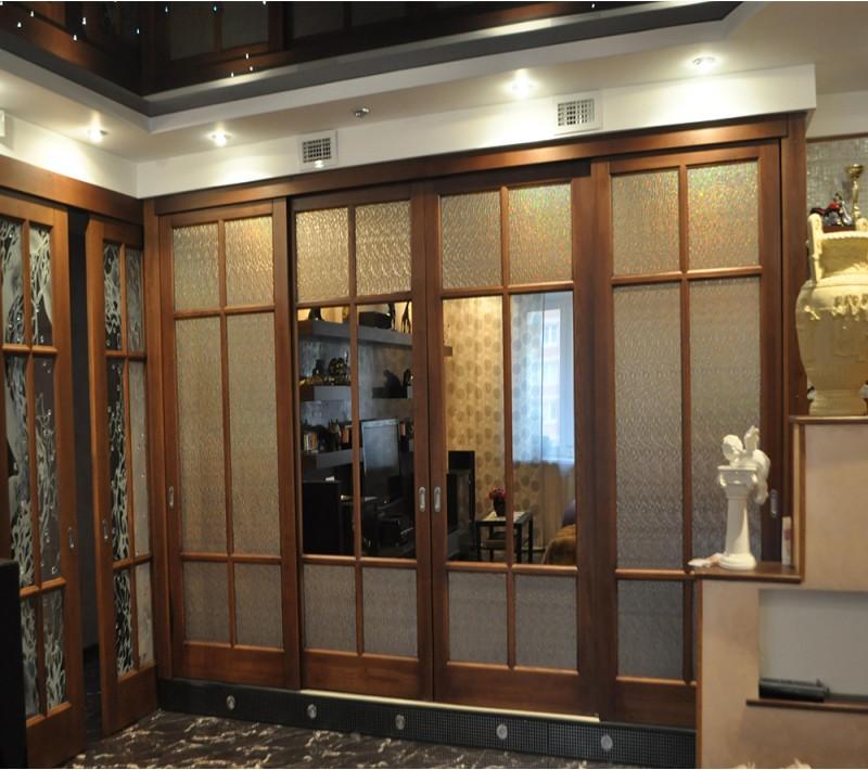Раздвижные двери классика для гардеробной
