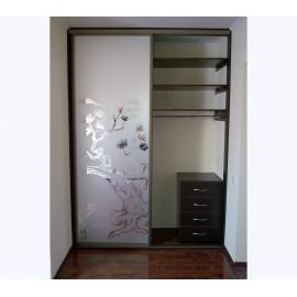 Шкаф купе встроенный в нишу
