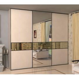 Шкафы купе 3 х дверные с зеркалами