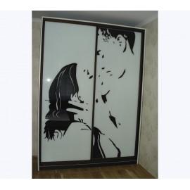 Шкаф купе лакобель с рисунком