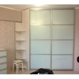 Стеклянные двери купе для гардеробной